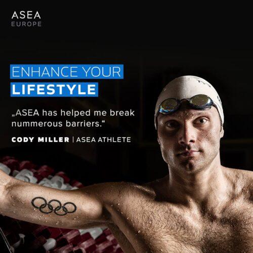 ASEA produkter for idrett